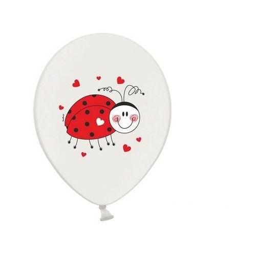 Balony z nadrukiem Biedronka - 14 cali - 50 szt. (5901157492494)