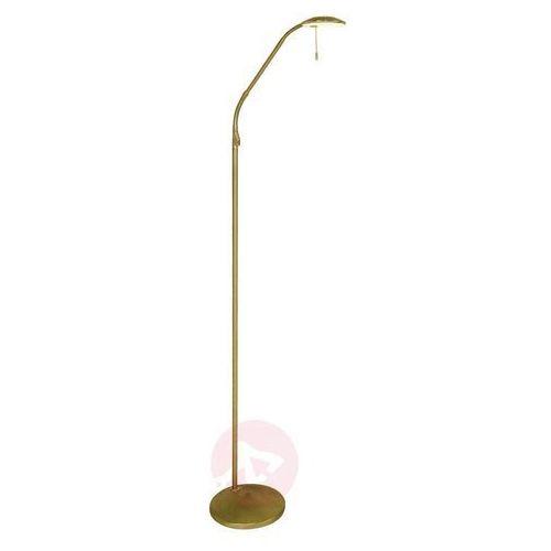 Steinhauer zenith lampa stojąca led mosiądz, 1-punktowy - nowoczesny - obszar wewnętrzny - zenith - czas dostawy: od 6-10 dni roboczych