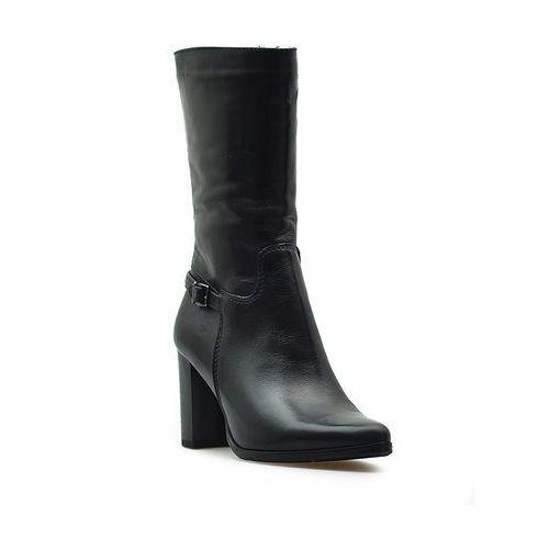 Kozaki 9160 sandro 04 czarne lico marki Simen