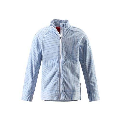 Bluza polarowa mikroflis  piiru jasnoniebieska z ciemniejszym wzorem marki Reima