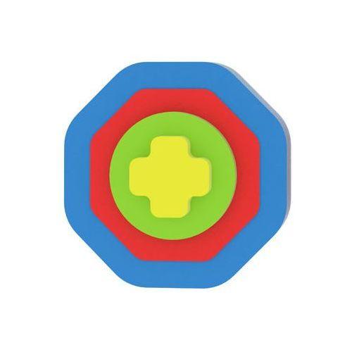 Moje první puzzle - Tvary osmiúhelník/modrá neuveden (8595615200270)