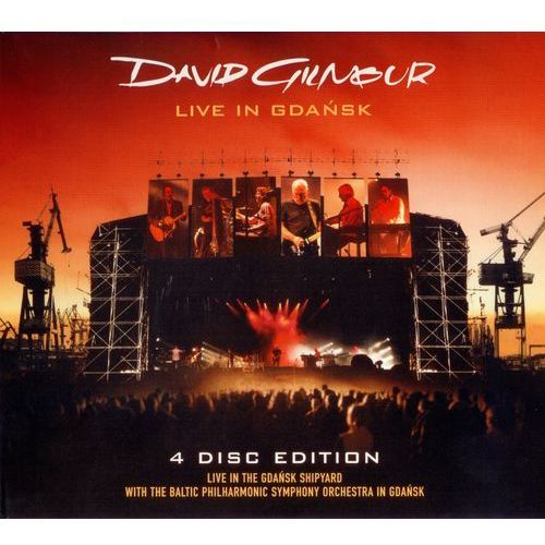 David Gilmour - Live In Gdańsk (2CD+2DVD)