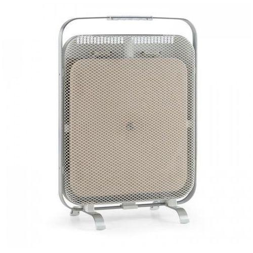 Klarstein heatpal marble grzejnik promiennik na podczerwień 1300w marmur aluminium (4260509686921)
