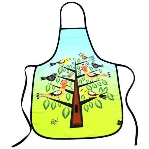 Fartuszek kuchenny z nadrukiem ludowym - ptaki (5) marki Pracownia artystyczna