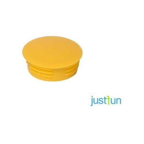 Zaślepka wciskana Ø35 mm - żółty