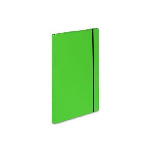 Vaupe Teczka skrzydłowa z gumką  caribic a4 342/15 jasna zielona