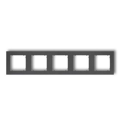 Karlik Ramka pięciokrotna mini 11mr-5 grafitowa (5903268586215)