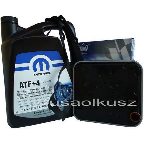 Olej atf+4 oraz filtr automatycznej skrzyni 4spd chrysler pacifica marki Mopar