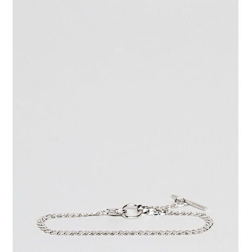 DesignB Silver Ball Bracelet In Sterling Silver Exclusive To ASOS - Silver