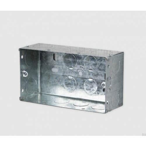 Puszka metalowa angielska 2G 130x70x47 (5060737352969)