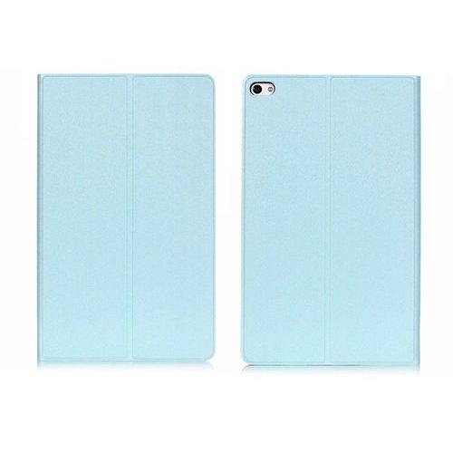 Etui Book Cover Huawei MediaPad T2 10.0 Pro Brokat Niebieskie - Niebieski, kolor niebieski