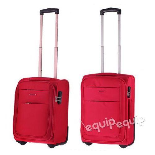 Zestaw walizek Puccini Camerino RyanAir + Wizzair - czerwony