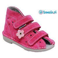profilaktyczne buty wzór 013k, kolor fuksja marki Adamki
