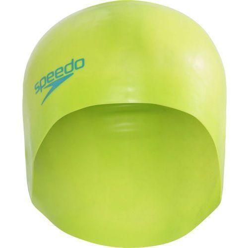 speedo Plain Moulded Czepek pływacki Dzieci zielony 2018 Czepki pływackie (5053744279183)