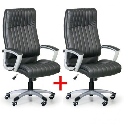 B2b partner Fotel biurowy lugano 1+1 gratis - czarne