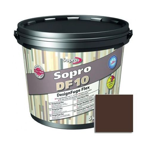 Fuga cementowa DF10 brązowy 5 kg SOPRO, 1059/5