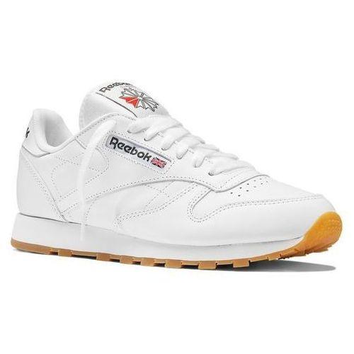 Buty Reebok Classic Leather - 49799 - Intense White/Gum