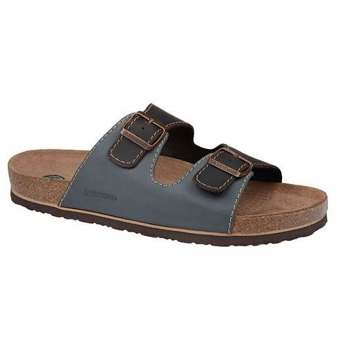 Klapki buty Dr BRINKMANN 600308-5 Multi - Jeans   Brązowy   Multikolor