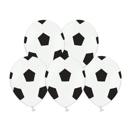 """Balony z nadrukiem """"Piłki Nożnej"""" - 30 cm - 50 szt., #A1430^n"""