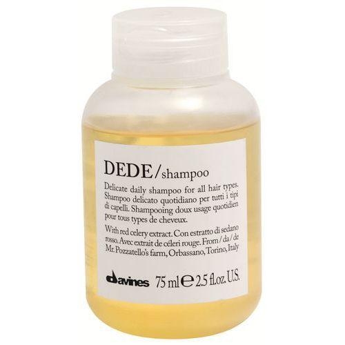 dede - delikatny szampon do każdego rodzaju włosów 75ml marki Davines