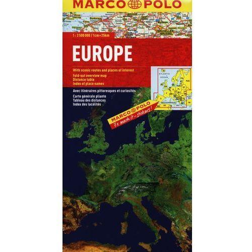 Europa. Mapa Marco Polo W Skali 1:2 500 000, DAUNPOL
