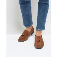 tassel loafers in tan suede - tan, Silver street