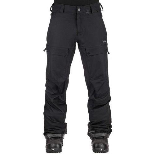 Volcom Spodnie - pat moore pant black (blk) rozmiar: l