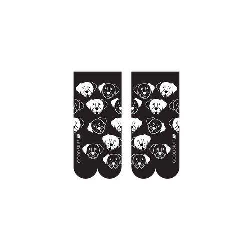 Skarpety soxo good stuff czarnobiałe damskie rozmiar: 35-40, kolor: biały, soxo