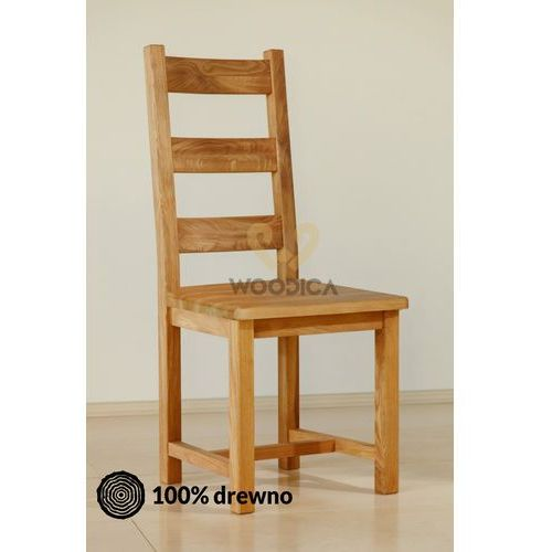 Krzesło dębowe 04d marki Woodica