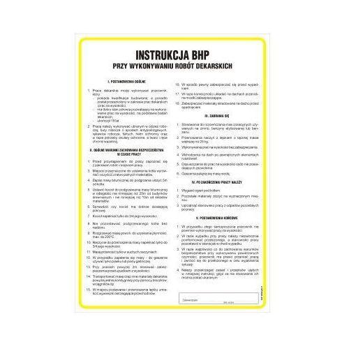 Instrukcja BHP przy wykonywaniu robót dekarskich