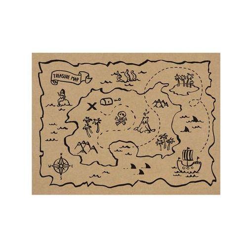 Party deco Podkładki papierowe piraci - 40 x 30 cm - 30 szt. (5900779107724)
