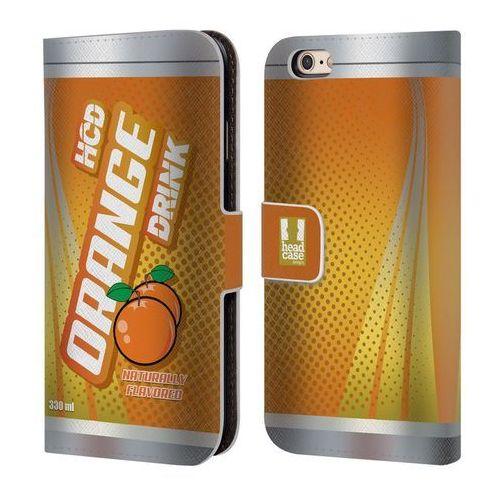 Head case Etui portfel na telefon - case can hcd orange drink