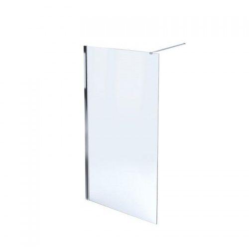 MASSI Ścianka Walk-In 130x195, szkło transparentne + powłoka EasyClean MSKP-FA1021-130 * WYSYŁKA GRATIS, MSKP-FA1021-130