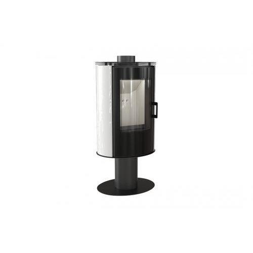 Piec kaflowy KOZA AB S/N/O GLASS kafel biały + dodatkowy rabat przy zamówieniu + gratis
