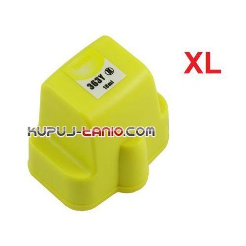 Kupuj-tanio Hp 363 xl yellow tusz do hp photosmart 8250, hp photosmart c5180, hp photosmart c7280, hp photosmart c6180, hp photosmart 3310, hp photosmart 3210 (6949853636339)