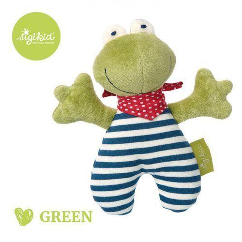 Sigikid przytulanka grzechotka żabka kolekcja ekologiczna green