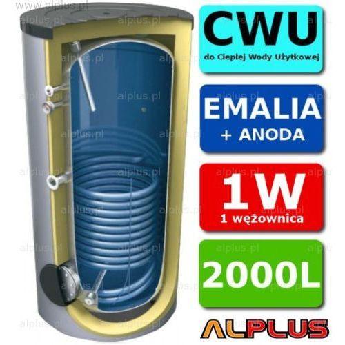 Lemet Zasobnik 2000l z 1 wężownicą, do podgrzewania wody użytkowej, emaliowany +anoda