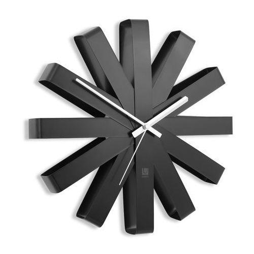 Zegar ścienny Umbra Ribbon black 30 cm