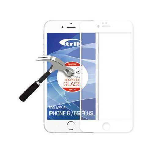 Holdit Trik szkło hartowane dla iPhone 6Plus/6s Plus, białe (612723) Darmowy odbiór w 20 miastach! - sprawdź w wybranym sklepie