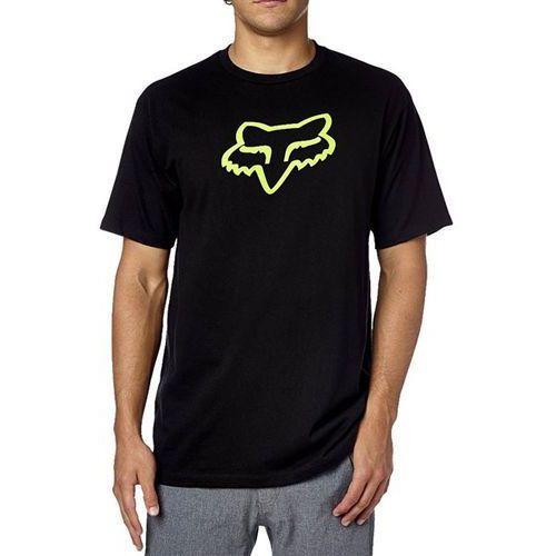 Koszulka - legacy foxhead black/green (151) rozmiar: 2x, Fox