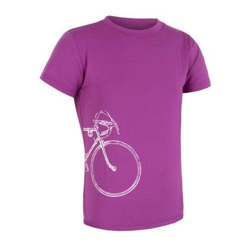 Sensor Dziecięce koszulka  pt coolmax fresh tour fioletowy 16100075