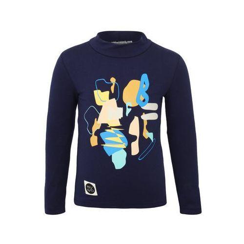 Mainio ZGREEN BACKSTAGE CHILDREN'S TURTLE NECK Bluzka z długim rękawem dark blue (6438413804672)