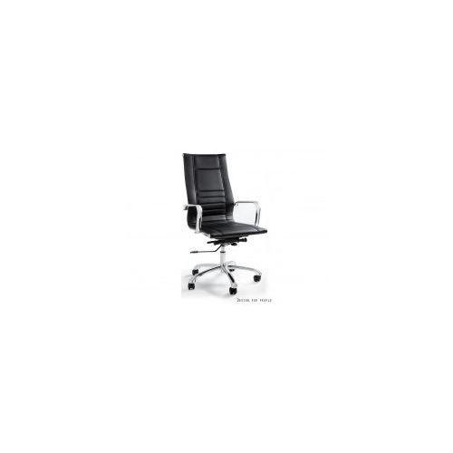 Unique meble Krzesło biurowe aster czarne
