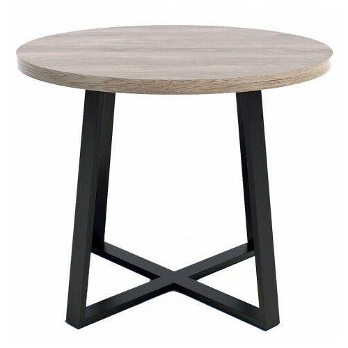 Nowoczesny stół z blatem Dąb brunico - Jens