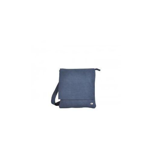 F.A.N. 2 torba/ listonoszka skóra naturalna firmy daag