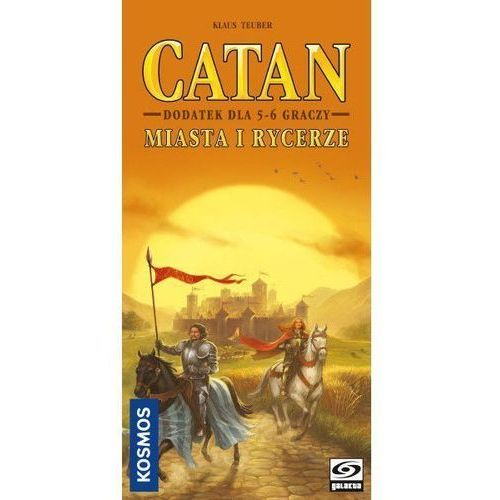 Galakta Gra catan - miasta i rycerze dodatek dla 5-6 graczy