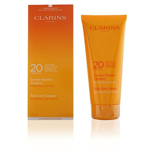 Clarins Sun Protection krem do opalania ciała SPF 20 (Sun Care Cream) 200 ml