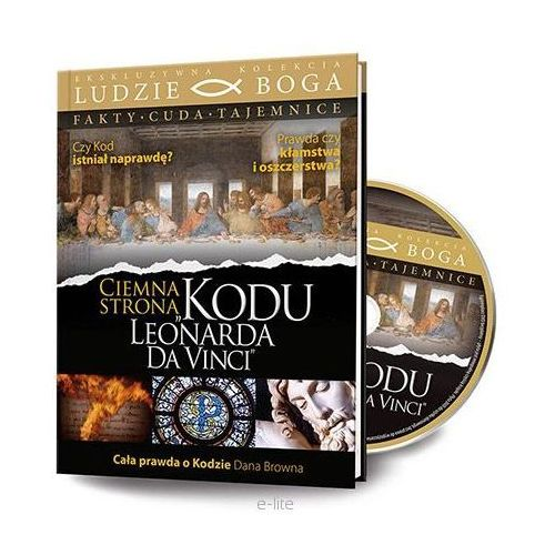 CIEMNA STRONA KODU LEONARDA DA VINCI + Film DVD, kup u jednego z partnerów
