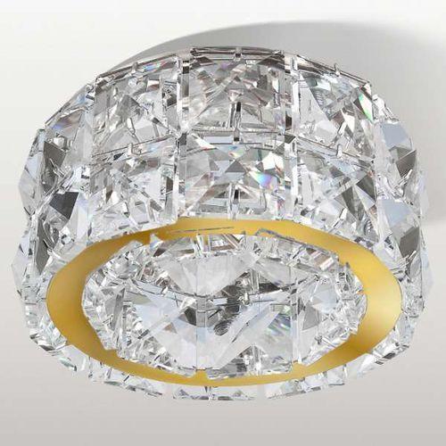 Wpuszczana lampa sufitowa ester dm1000-2-go kryształowa oprawa podtynkowa okrągła crystal przezroczysty marki Azzardo