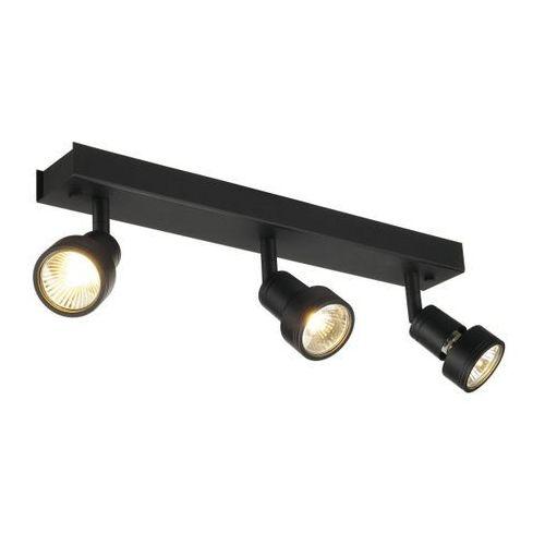 reflektorek potrójny PURI 3 czarny, SPOTLINE 147380